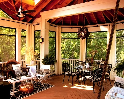 Screened Porch Sanctuary
